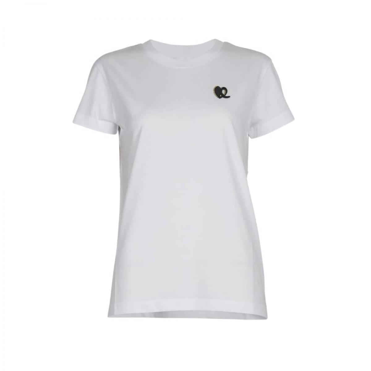 cara heart t-shirt - white - front