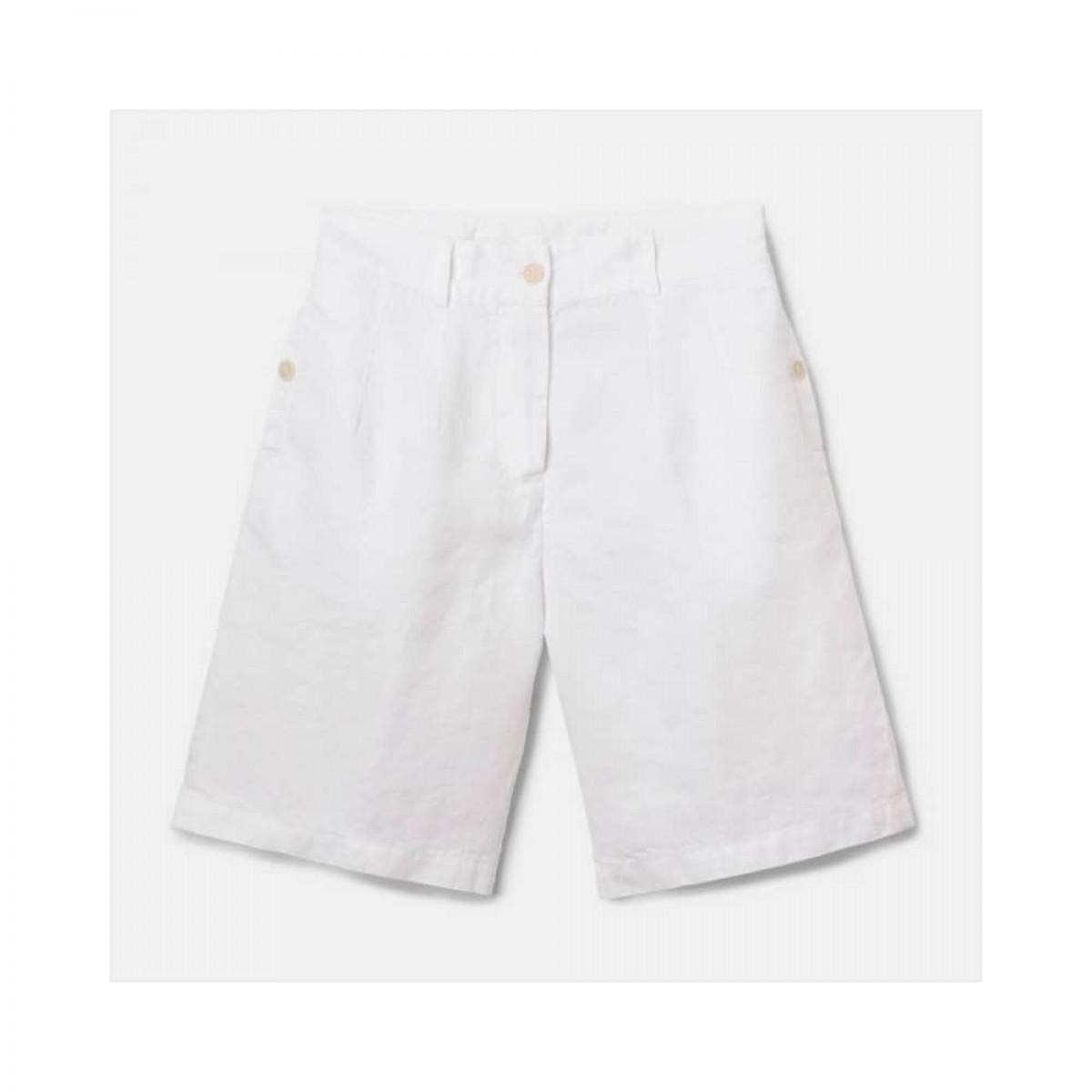 bermuda donna shorts - white