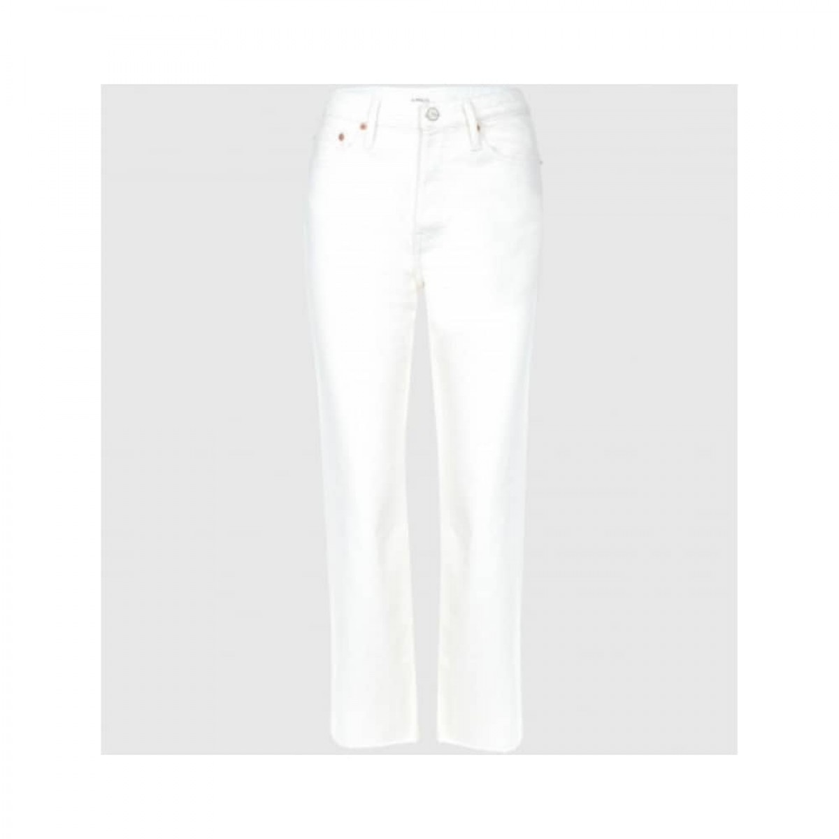 milo jeans - off white - front