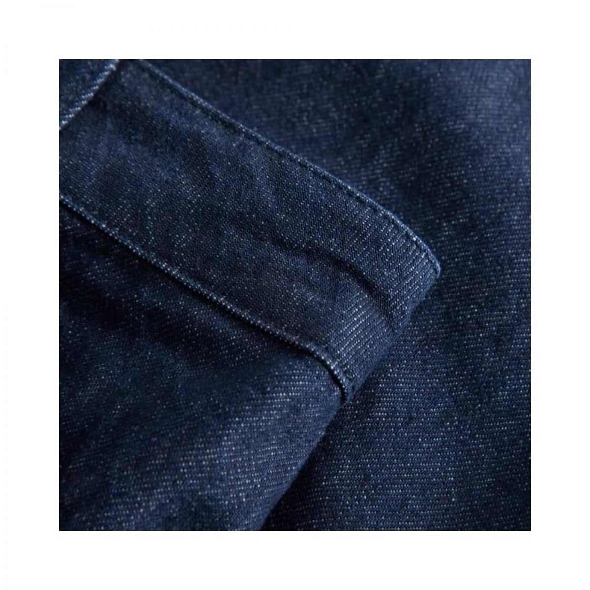 aston pants - denim blue - denim detalje
