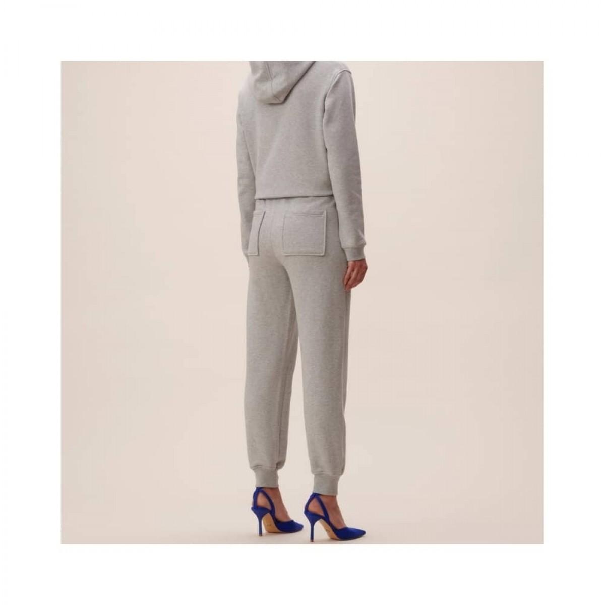 phine sweatpants - grey melange -model bagfra
