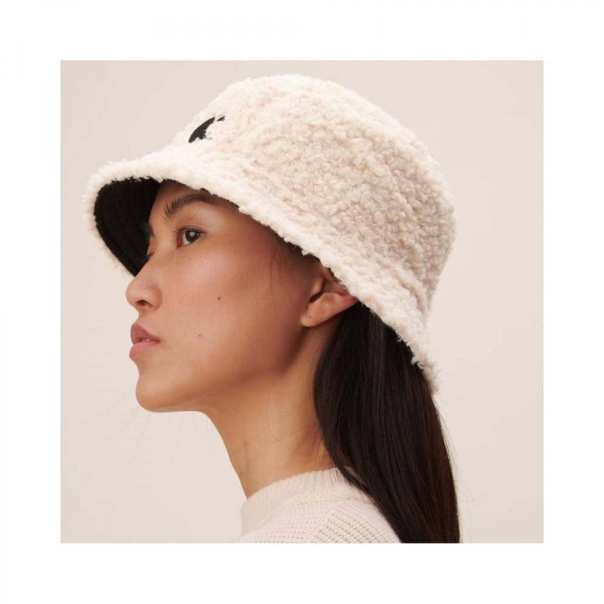hat alicia reversible - black - model teddy