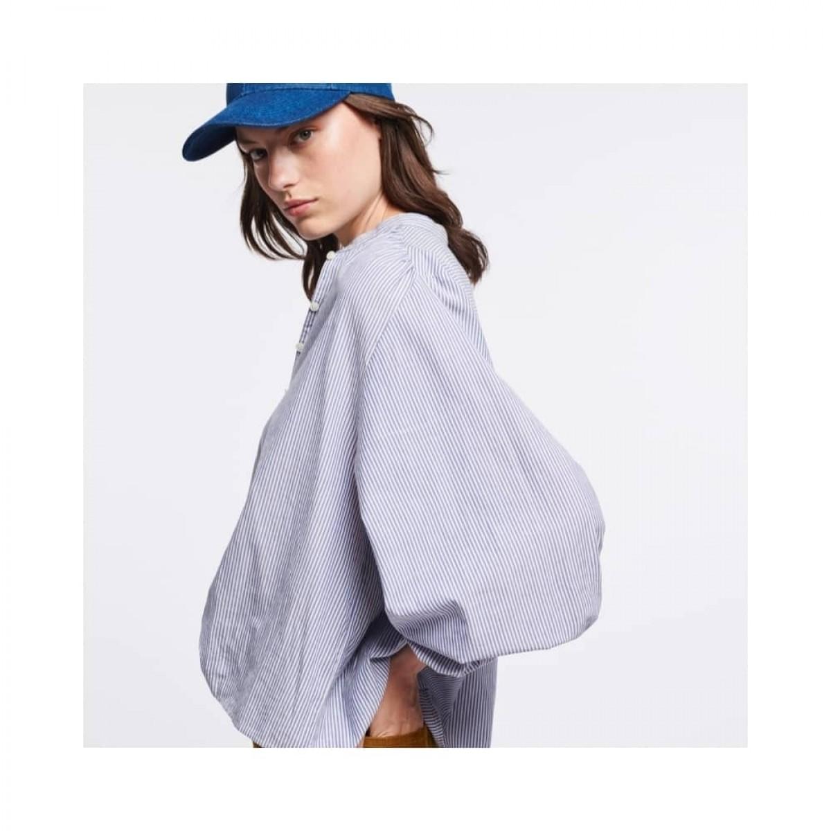 mederic bluse - blue - model fra siden