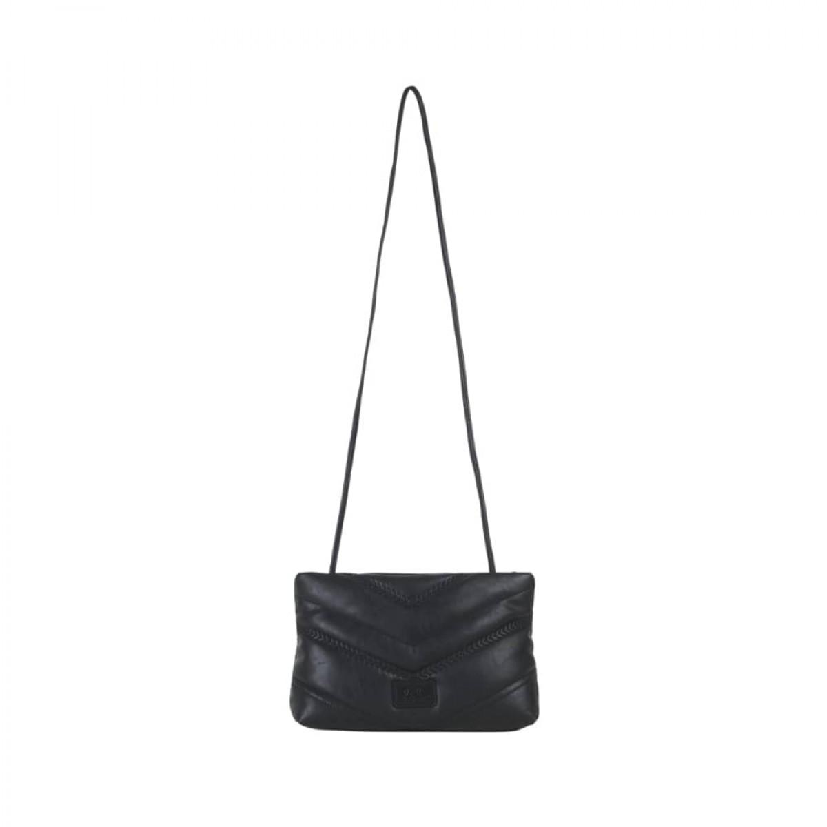 pouch nola - black - taske med rem