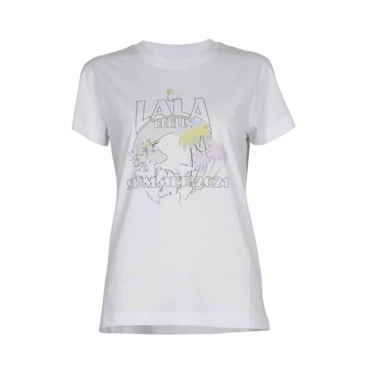 cara oasis t-shirt - white - front