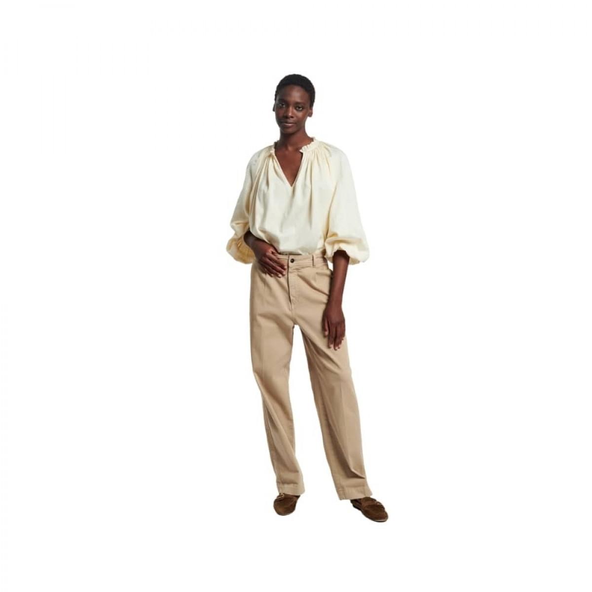 meyer bluse - ivoire - model 1