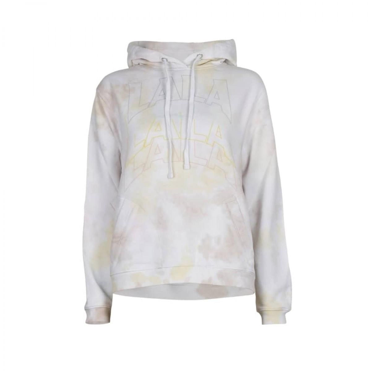 hoodie irmin sweat - pastel multicolor - front