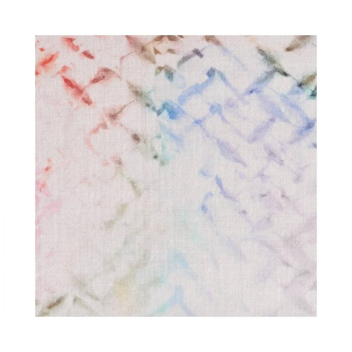 dorian kjole - rainbow kufiya - print