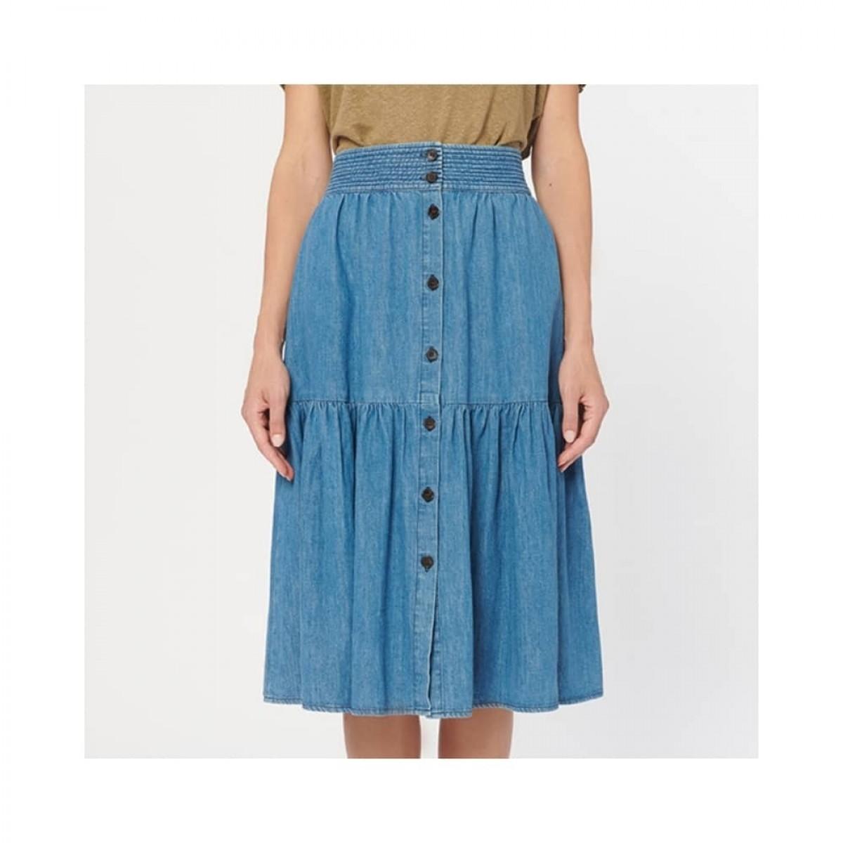 rehia nederdel - indigo