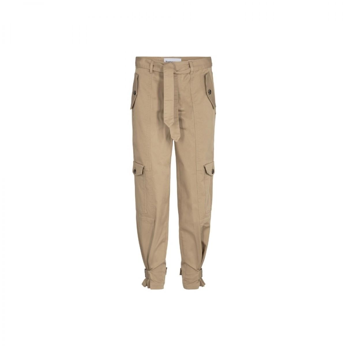 brown cargo pants - camel