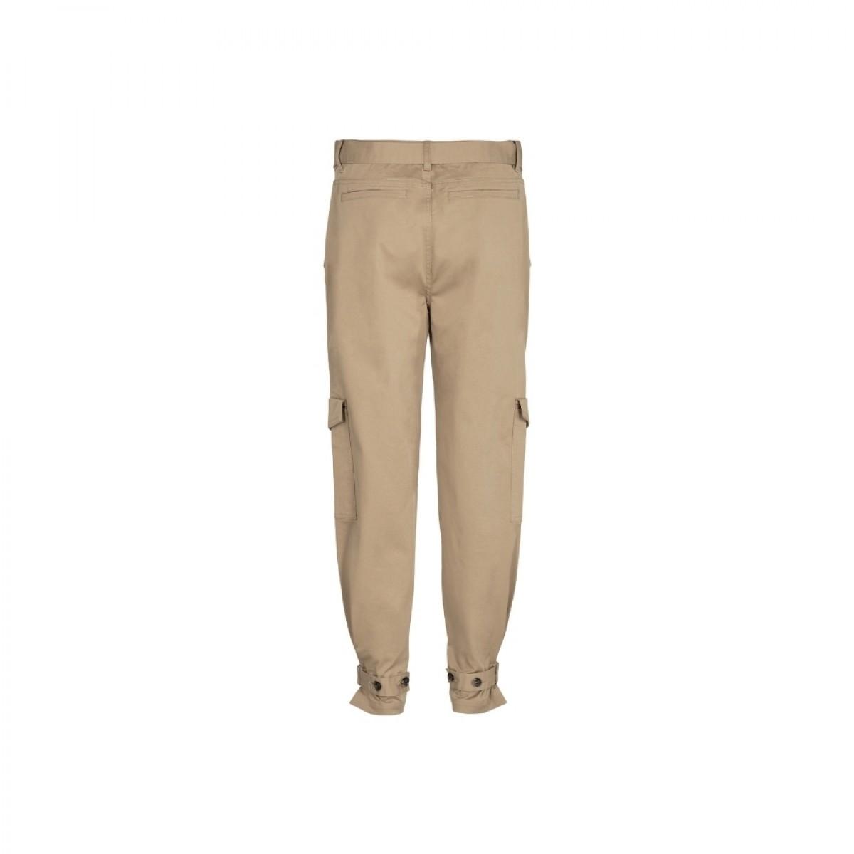 brown cargo pants - camel - bag
