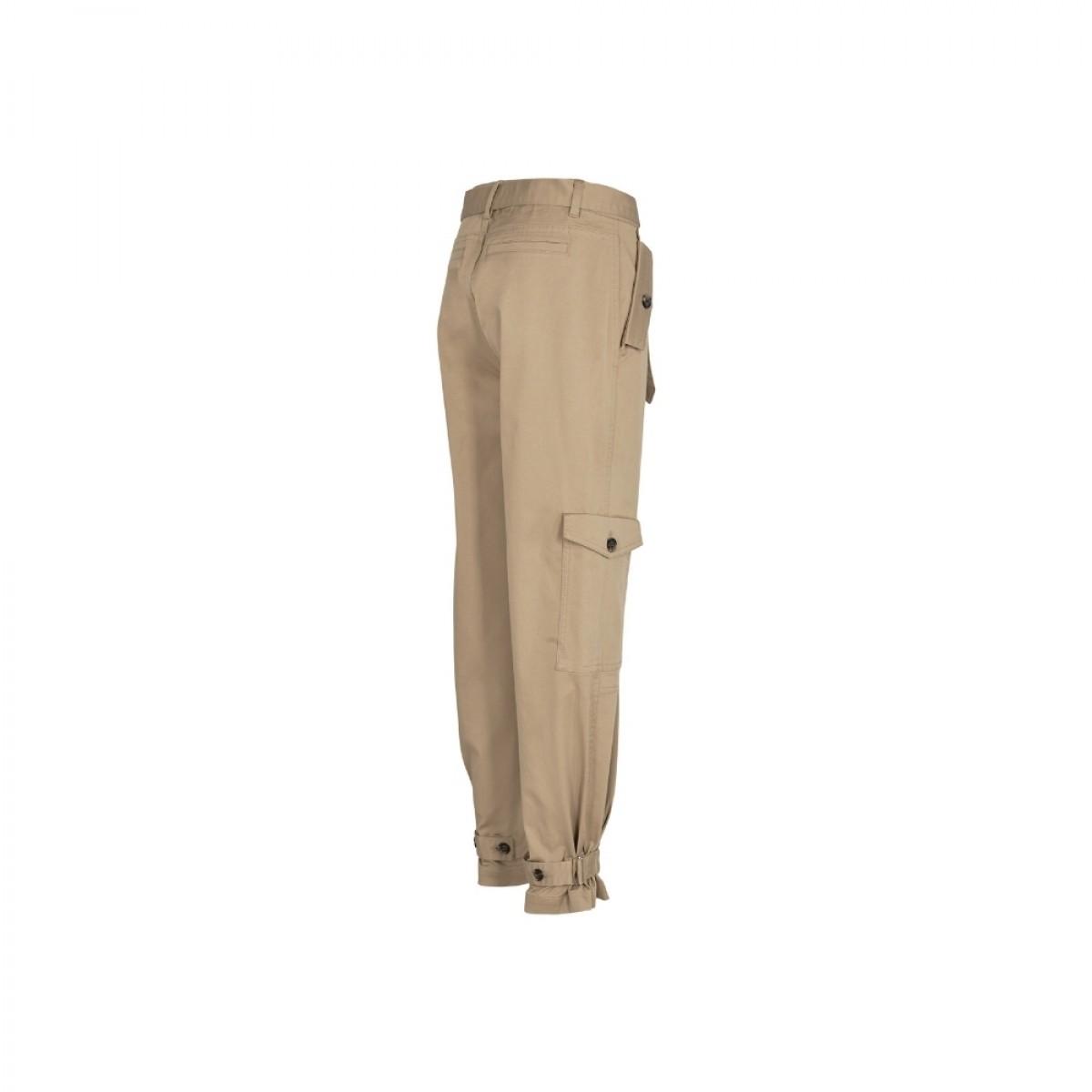 brown cargo pants - camel - fra siden
