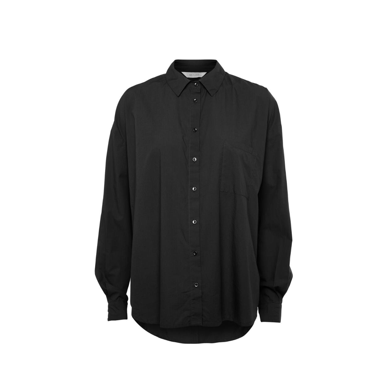 shanta shirt - black