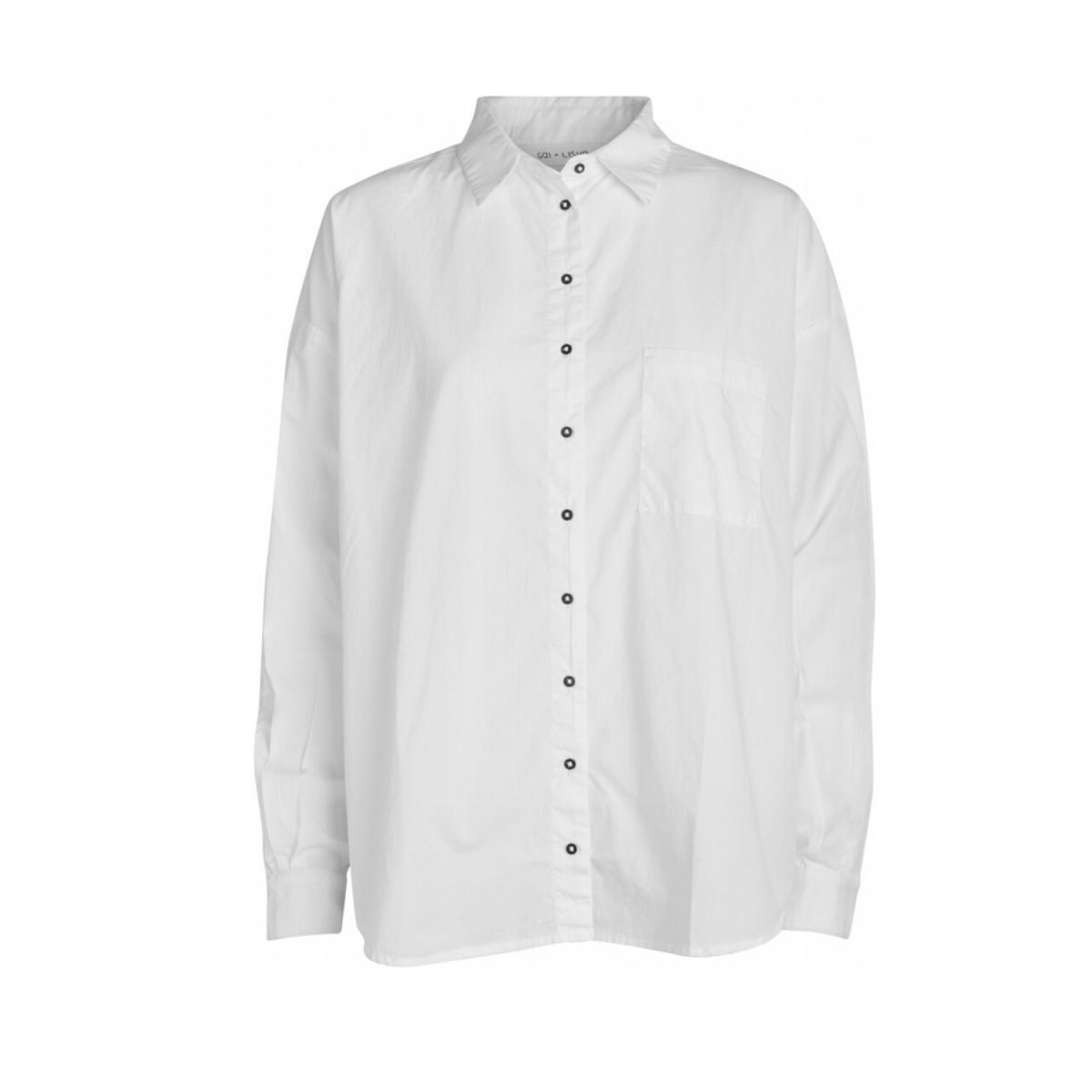 shanta shirt - white - front