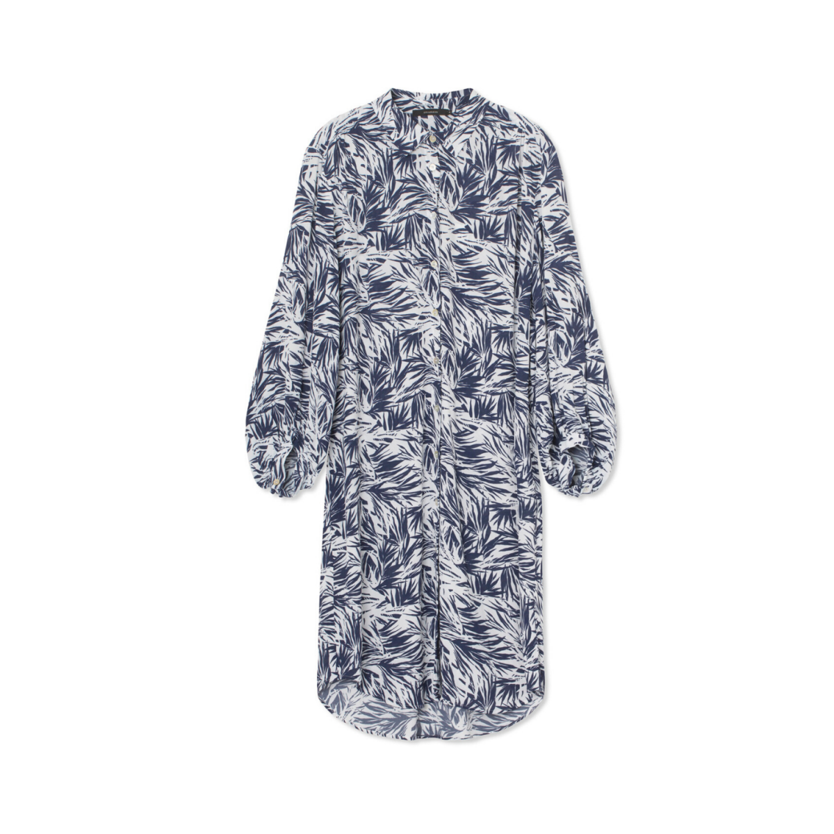 fiona kjole - blue jungle