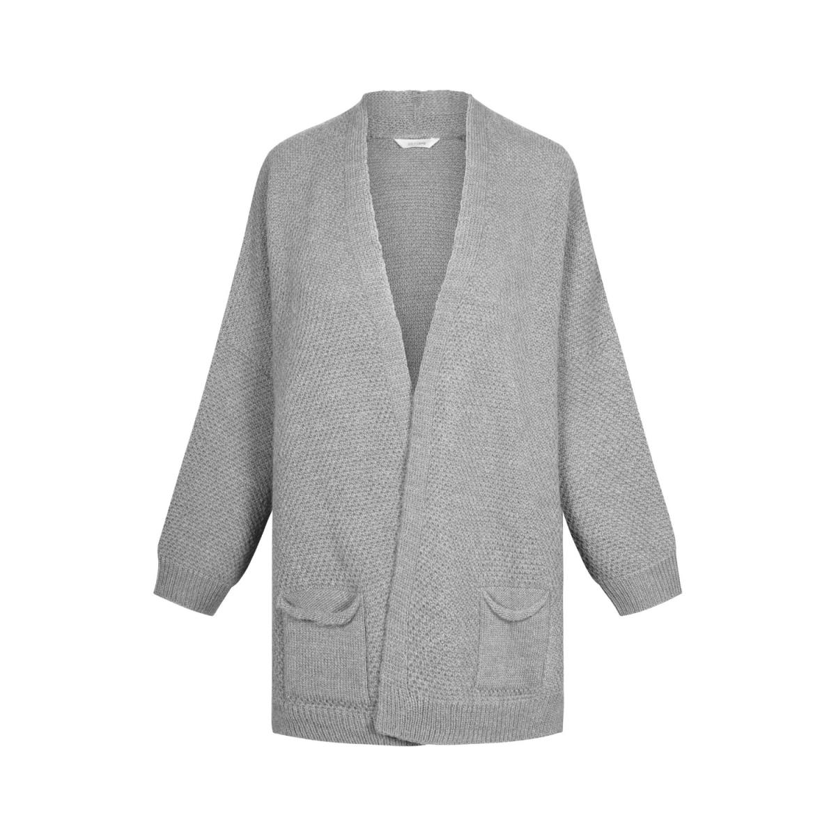 charlotte cardigan - light grey melange
