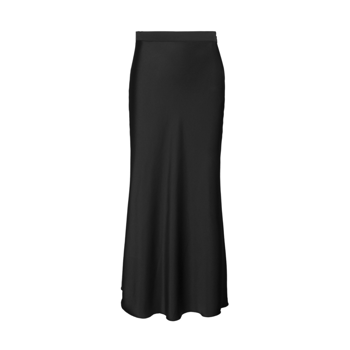 hana nederdel - black - front billede