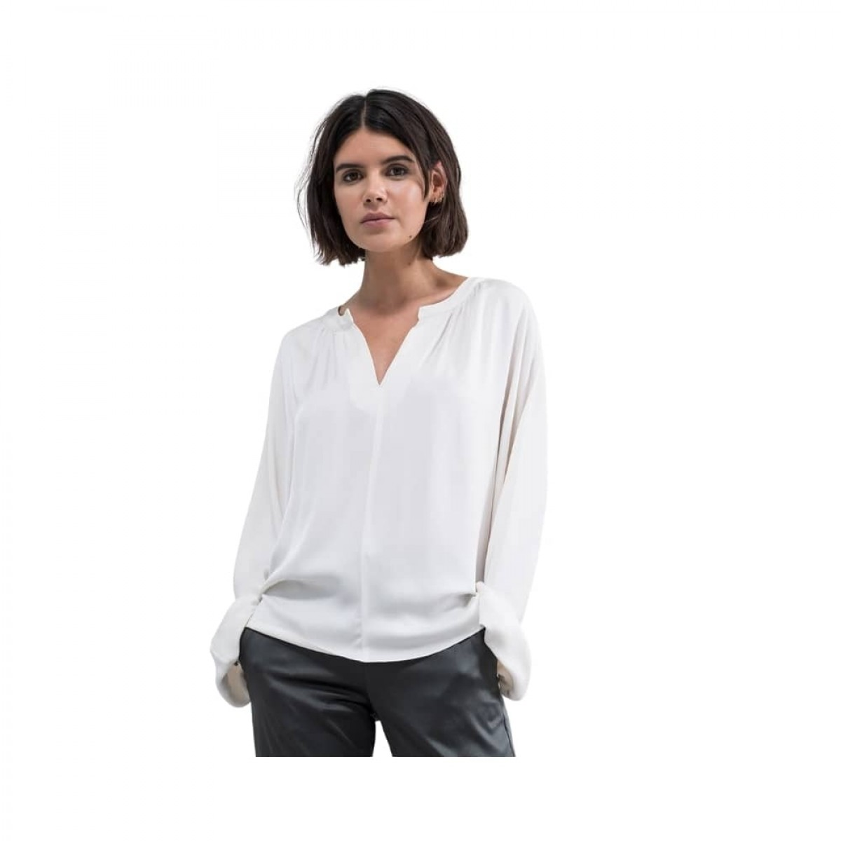 hiromi bluse - off white