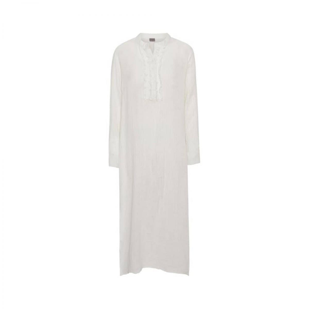 kaftan kjole - white