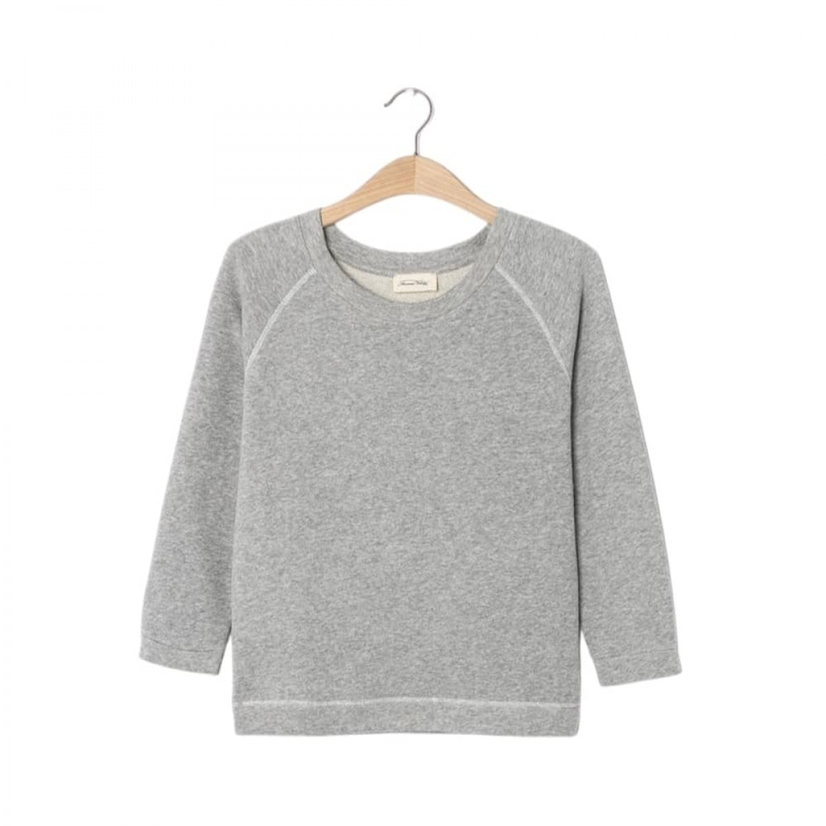 neaford sweat - heather grey - front