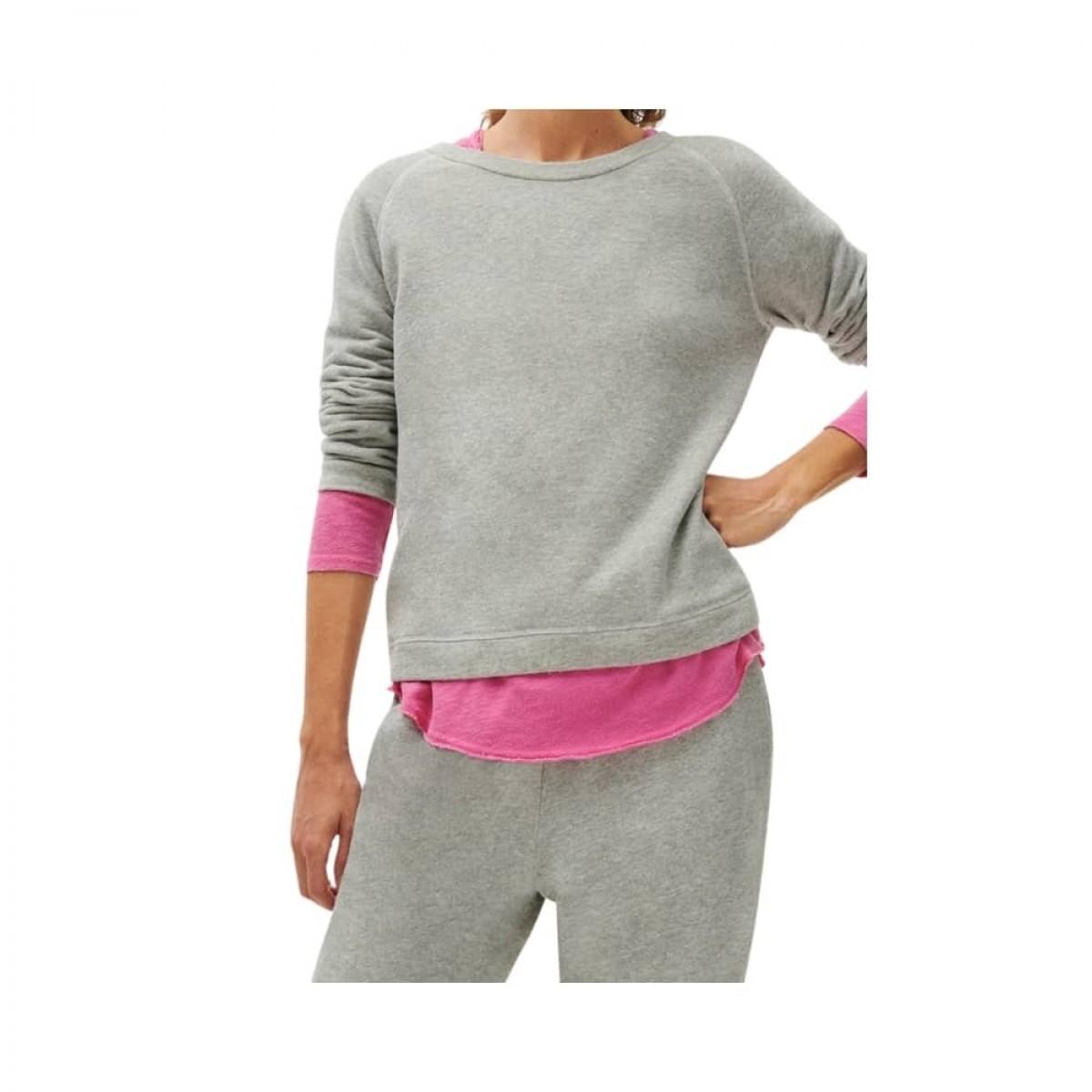 neaford basic sweat - heather grey