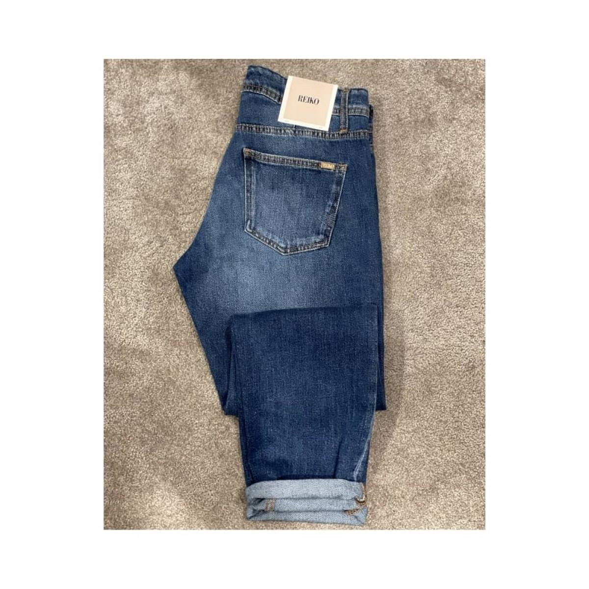 nina boyfriend jeans - denim blue - baglomme