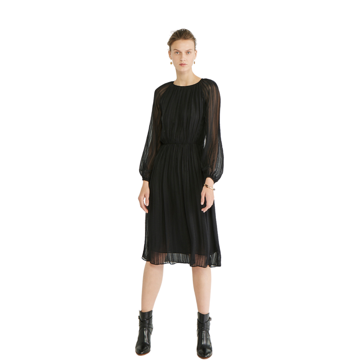 phera kjole - black
