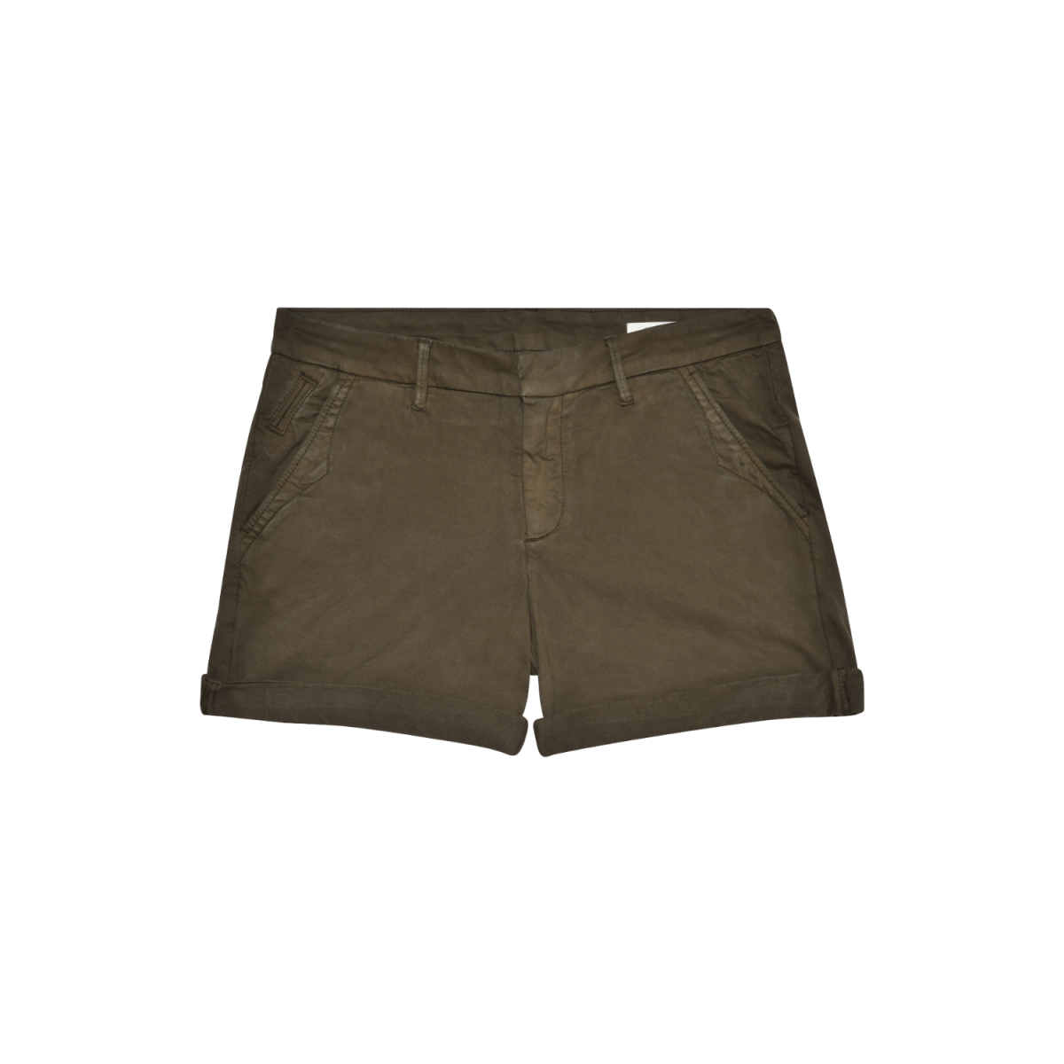 selena shorts - dark kaki