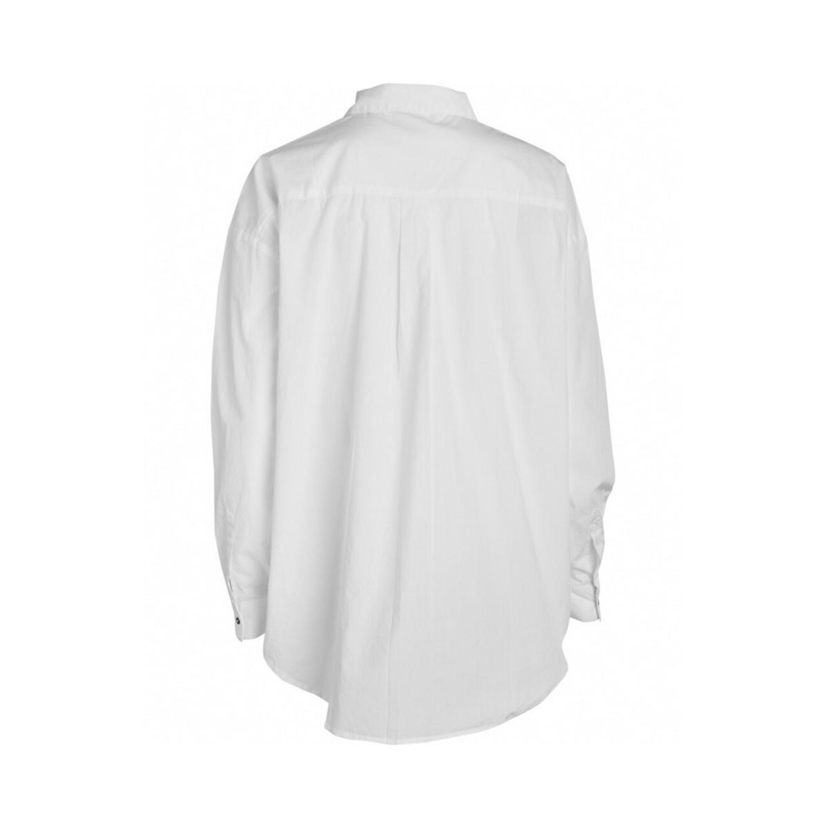 shanta shirt - white - ryggen
