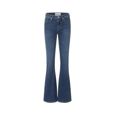 albert flare jeans - denim blue