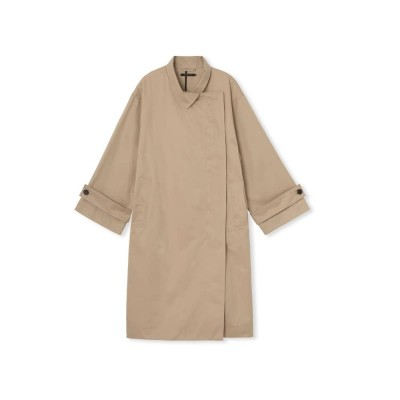 ricka coat - sand - front