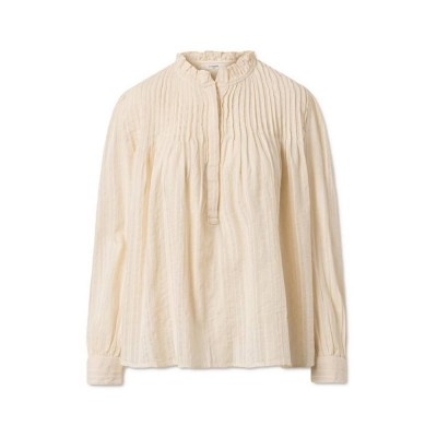 isabel bluse - cream - front