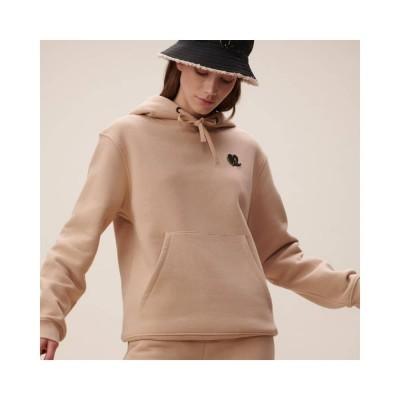 hoodie irmin heart - nomad camel - model 1