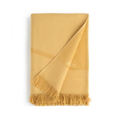 way cph strand håndklæde - yellow