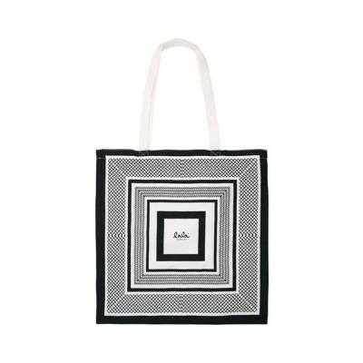 lala berlin carmen cotton bag kufiya - black