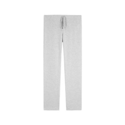 majestic filatures sweat bukser - light grey melange