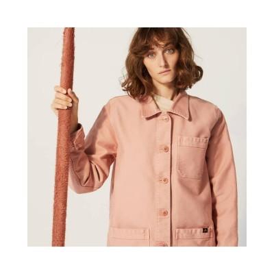 genuine work jacket - rose