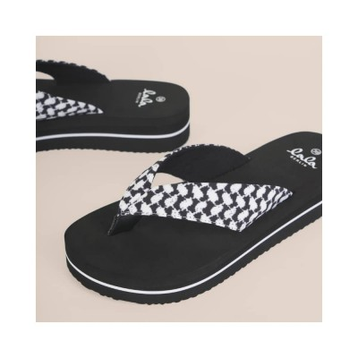flip flops ally - black