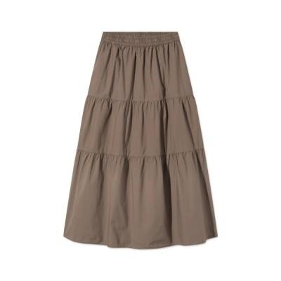 paprika nederdel - brown