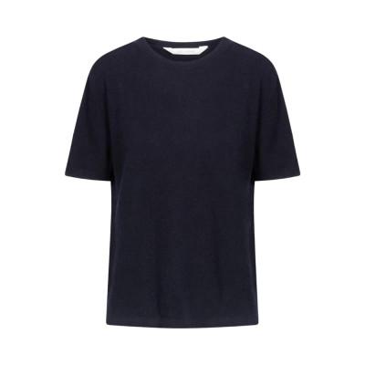 ellia knit blouse - dark sapphire