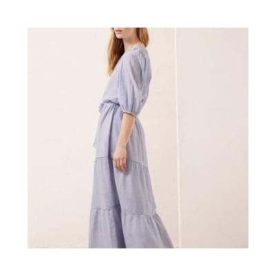 reinilda kjole - blue