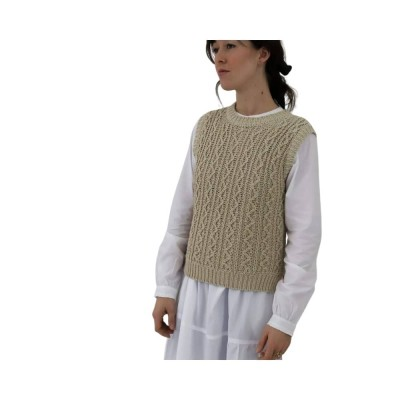 othilia vest - off white