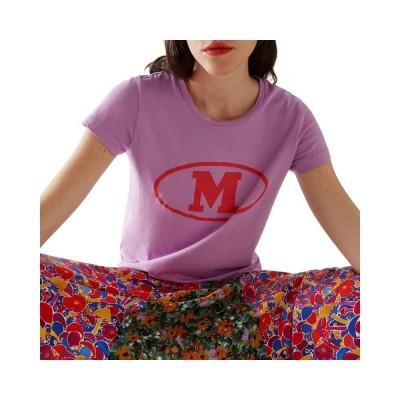 m missoni t-shirt - purple