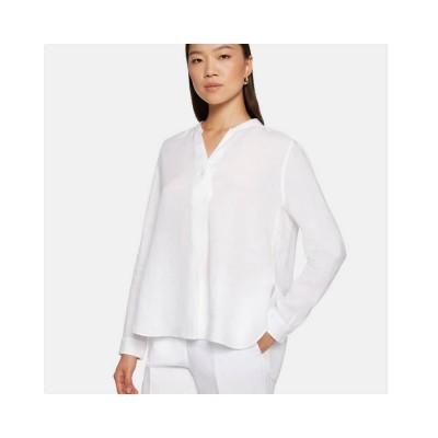 camicia donna skjorte - white