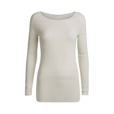 amalie bluse - offwhite - front