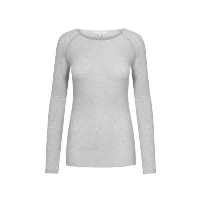 amalie bluse - light grey melange