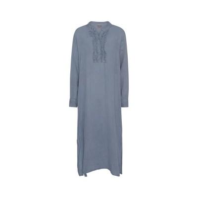 kaftan kjole - denim blue