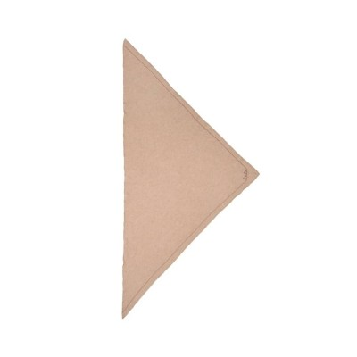 triangle solid logo m - dune beige