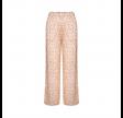 nanna bukser - straw print frappe