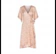 ellen kjole - straw print frappe